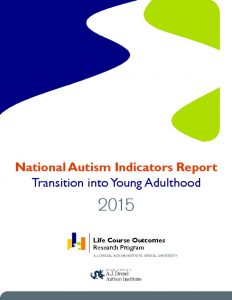 thumbnail of Autism and Transition 2015