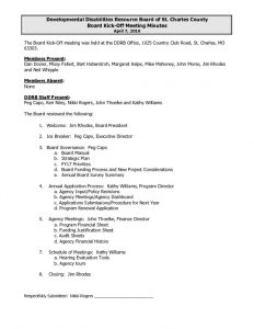 thumbnail of 040716 Board Kick Off Meeting Minutes