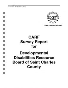 thumbnail of 2015 CARF Survey Report