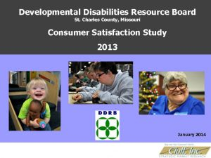 thumbnail of 2013 Consumer Satisfaction Survey Study