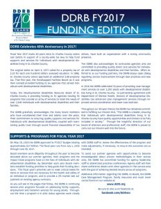 thumbnail of FY17 Funding Edition
