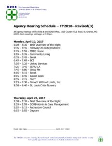 thumbnail of FY2018 Agency Hearings Schedule revised3