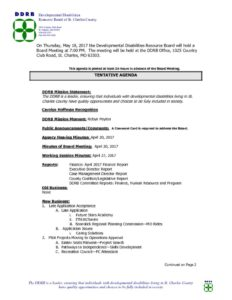 thumbnail of Board Meeting Notice 05-18-17