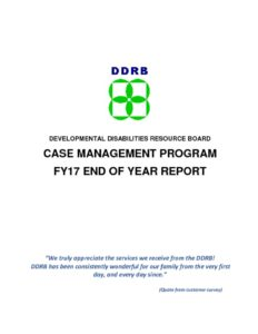 thumbnail of FY17 Case management end of year report