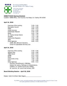 thumbnail of FY19 Hearing Schedule – Letterhead notice