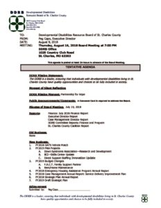 thumbnail of August 16, 2018 board notice