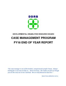 thumbnail of FY18 Case Management End of Year Report