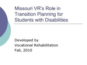 thumbnail of Transition Planning for Students
