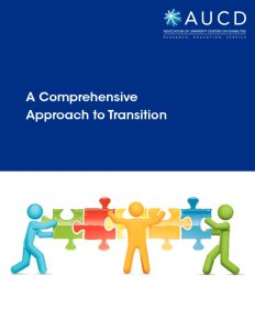 thumbnail of Comprehensive Approach to Transition