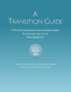 thumbnail of postsecondary transition guide 2017